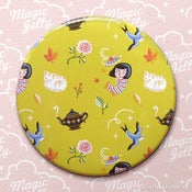 Image of Autumn Cottage Pocket Mirror