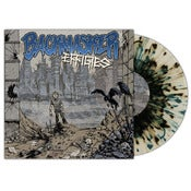 "Image of Backmasker ""Effigies"" 10"" (Gold/Bone Swirl Vinyl with Splatter)"