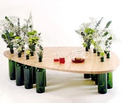 Image of DVINUS BIG, collect wine bottles and make your own table