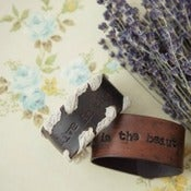 Image of Jeanne Oliver Leather Cuffs