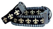 Image of Fleur de Lis Dog Collar