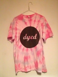 Image of Logo T-Shirt - Tie-Dye - Pink