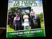 Image of Autographed Peterson Farm Bros Poster