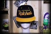 Image of LA RATCHETS SNAPBACK (gold/gold)