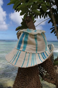 Image of beach bum hat - blue horizon