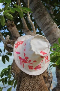 Image of beach bum hat - leis of love