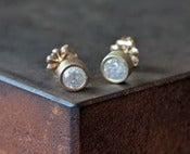 Image of Natural Ice DIamond Stud Earrings