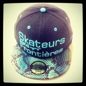 "Image of Snapback collector ""Blue snake"""
