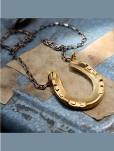 Image of Lucky Horseshoe Necklace