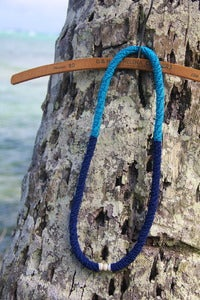Image of afro lei necklace - lani