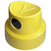 Image of Spray Cap Stool (Yellow)