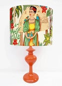 Image of Frida Khalo Genie Lamp by Retro Print Revival