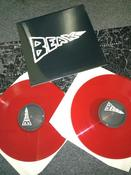 Image of BEAK> LP - gatefold edition 2 x RED vinyl (double)