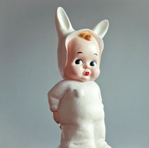 Image of White Baby Lapin Lamp