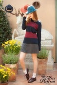 Image of Accordion Wool Skirt (grey)