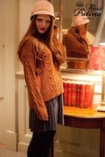 Image of Forget me Not Oversized Chunky Knit Jumper (toffee)