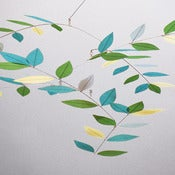 Image of Meadow Leaf Mobile by Moon-Lily Silk Mobiles