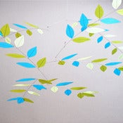 Image of Sunny Skies Leaf Mobile by Moon-Lily Silk Mobiles