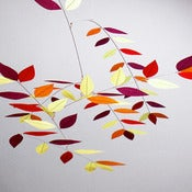 Image of Turning Leaf Mobile by Moon-Lily Silk Mobiles