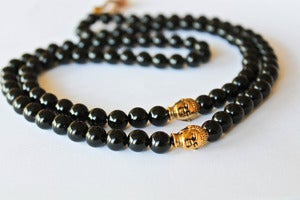 Image of Custom Meditation Bead Necklace