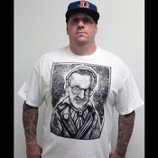Image of DEREK GUIDRY &quot;HELLFIRE STAN LEE&quot; SHIRT