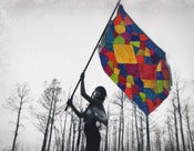 Image of Quilt Flag 19 x 26 inches 
