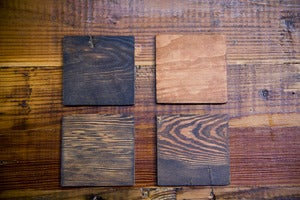 Image of Reclaimed Pine Coasters
