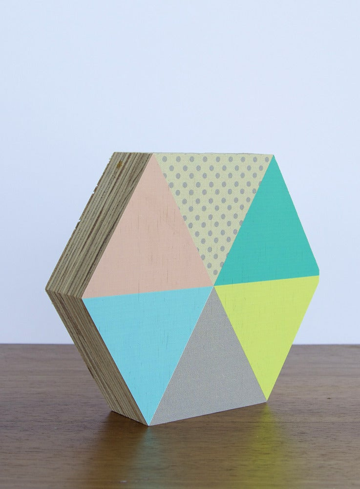 Image of GEO PASTEL 6 HEXAGON