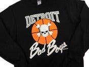 Image of Vintage Retro Detroit Pistons Bad Boys Crewneck Sweatshirt Jumper