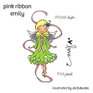 Image of Pink Ribbon Emily