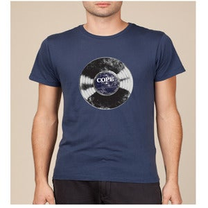 "Image of Clarence Greenwood Recordings ""Vinyl"" Tee"