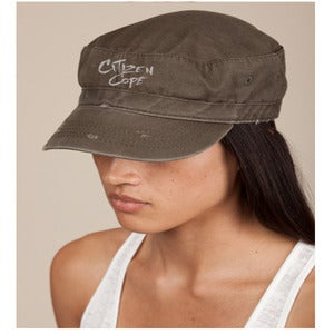 Image of Citizen Cope - Destroyed Fidel Cap - Army