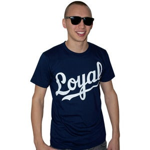 Image of Loyal Navy Tee (Unisex) Limited Edition!