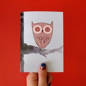 Image of Teacake Owl Greetings Card