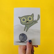 Image of Teacake Kitten Greetings Card