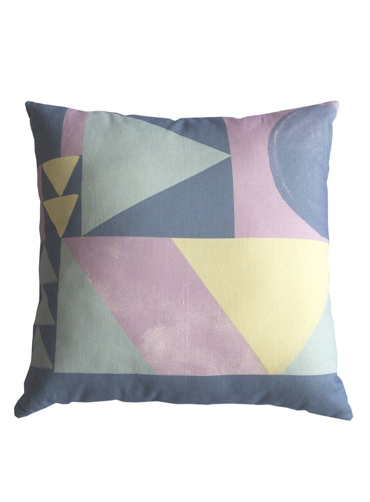 Image of GEO PASTEL CUSHION