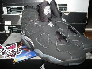 "Image of Air Jordan VIII (8) Retro ""Chrome"" *SOLD OUT*"