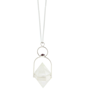 Image of Orsa. Crystal Quartz Necklace
