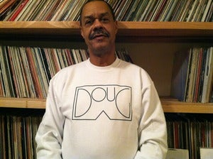 Image of DOUG SHORTS Crewneck Sweatshirt white