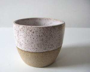 Image of Classic Speckled White Cups
