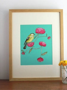 Image of Gingiber Goldfinch Print