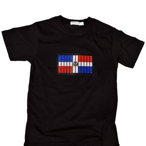 Image of Dominican Republic Flag V-neck