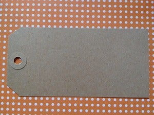 Image of Shipping Tags - Large Kraft