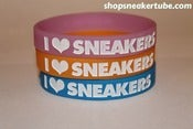 "Image of I Love Sneakers ""Glow In The Dark"" Wristbands [3-Pack]"