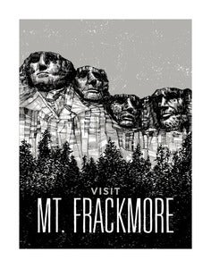 Image of Mt. Frackmore // 11x14 Art Print
