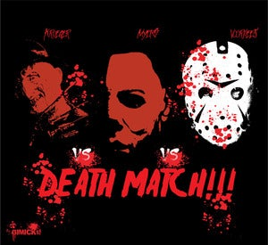 Image of DEATH MATCH T-SHIRT!!!!