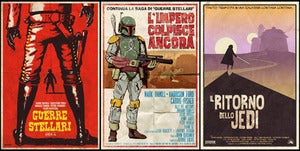 "Image of Star Wars Spaghetti Western Trilogy- 3 Posters 24""x36"" 2nd Edition"