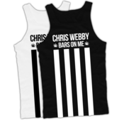 Image of Chris Webby 'Bars And Stripes' Tank Top (Black or White)