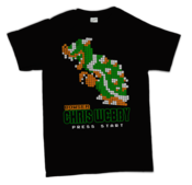 Image of Chris Webby &amp;#x27;Bowser 8-Bit&amp;#x27; T-Shirt 