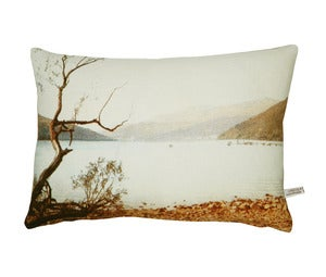 Image of Blue Lake English Romantic cushion